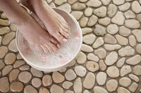 Some of the best foot soaks for cracked heels are the easiest to make.