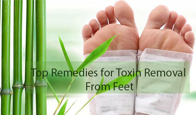 Home Remedies for Toxin Removal From Feet