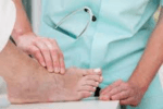 Painful cracked heels can sometimes be a caused by an underlying illness.
