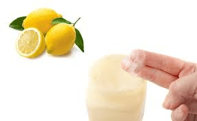 Petroleum jelly and lemon for thick calluses on feet and see what happens!