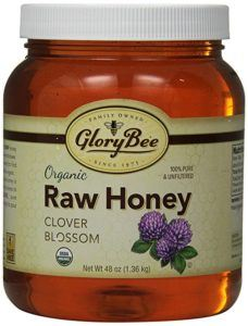 Organic honey on its own with warm water works great as a best foot soak for cracked heels