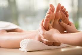 Improved blood circulation is one of many salt foot bath benefits